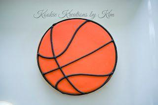 Basketball cookies  - Kookie Kreations by Kim