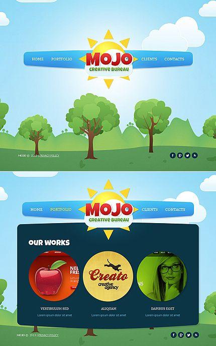 Mojo Designo Moto CMS HTML Templates by Ares