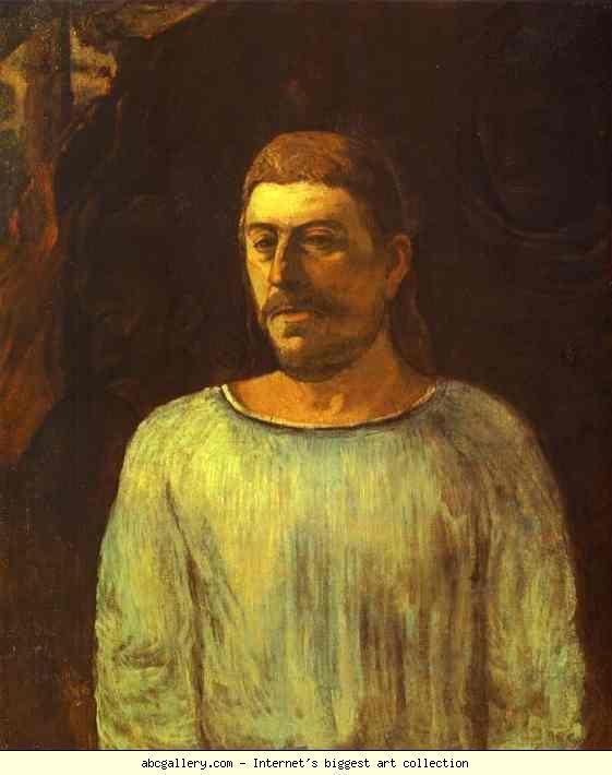 Paul Gauguin. Self-Portrait. Olga's Gallery.