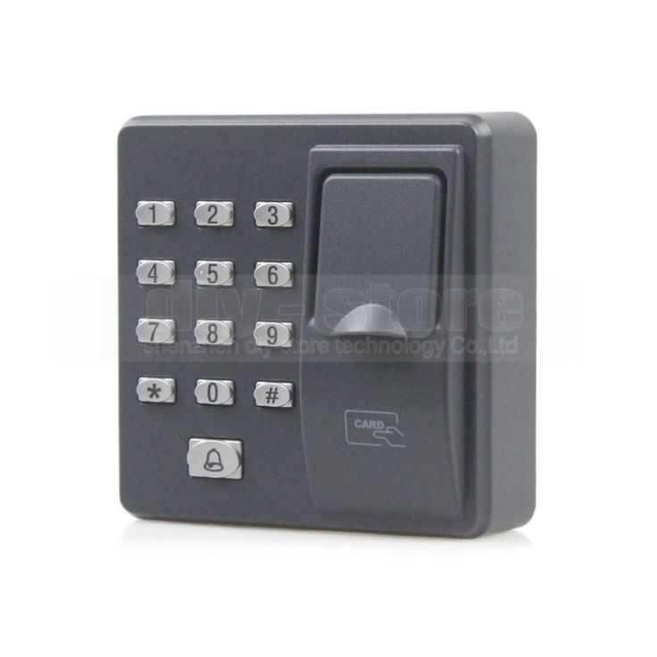 buy diysecur biometric fingerprint access control machine digital electric rfid reader code password #digital #door #locks