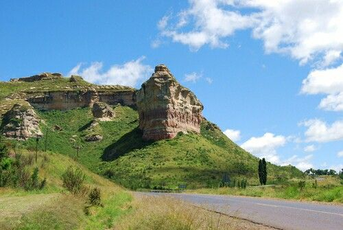 """Clarens is a small town situated in the foothills of the Maluti Mountains in the Free State province of South Africa and nicknamed the """"Jewel of the Eastern Free State""""."""