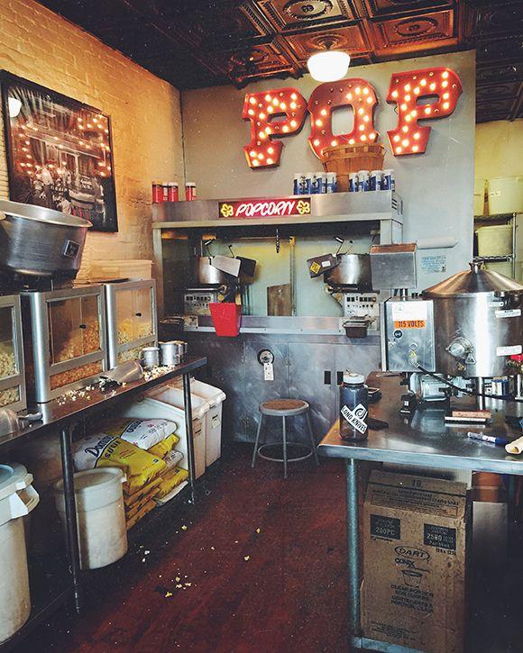 Decor Crush: Retro Popcorn Shop | Free People Blog #freepeople