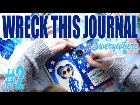 Wreck This Journal everywhere #2 / Уничтожь меня #2 / Коралина в стране кошмаров / Coraline - YouTube