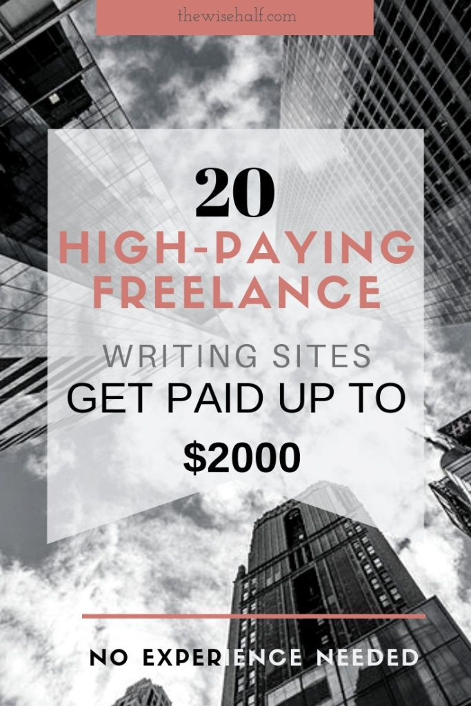20 Top Sites To Find Freelance Writing Jobs for Beginners.