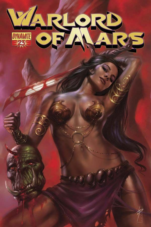 WARLORD OF MARS #23: Dejah Bed, Dcmarvel Comic, Fantasy Warriors, Dynamite Comic, Fantasy Art, Dynamite Warlordofmar, 23 Dynamite, 23 March, Lucio Parrillo