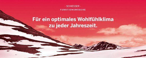 Wohlfühlklima für die kalten Tage! http://www.schiesser.com/sport/  #Funktionswäsche #SCHIESSER #Qualität #winter  #thermo