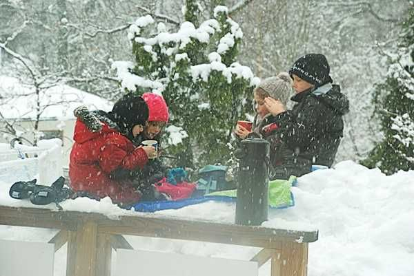 Winter Picnic with Kids and Fun Backyard Decorating Ideas