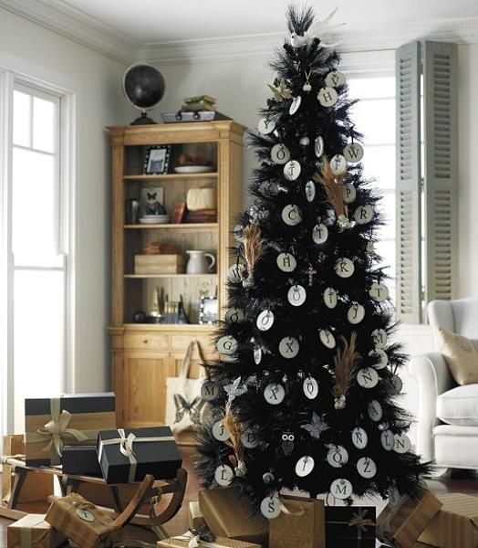Black And White Christmas Decoration Ideas: 25+ Best Ideas About Black Christmas Trees On Pinterest