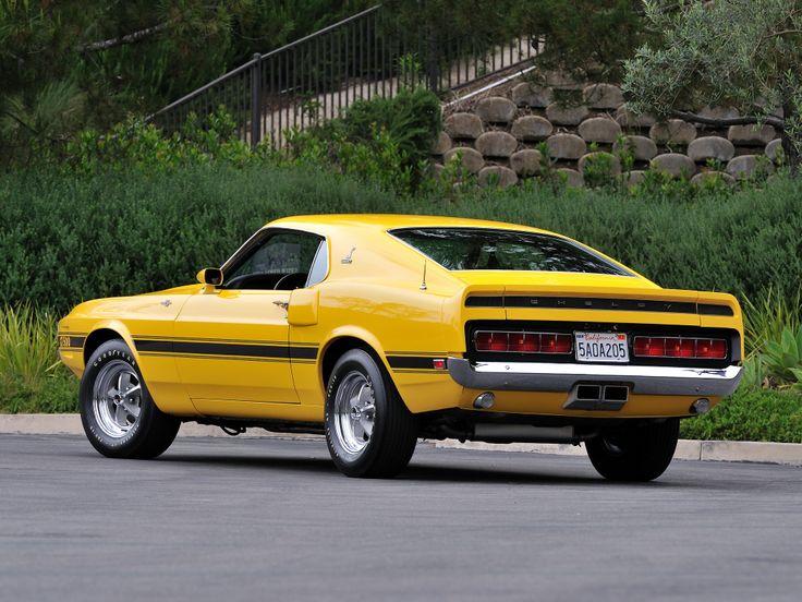 1969-70 Shelby GT500 Mustang   Vroom.   Pinterest