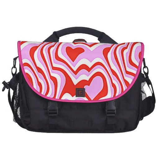colorful abstract pattern Laptop Bag