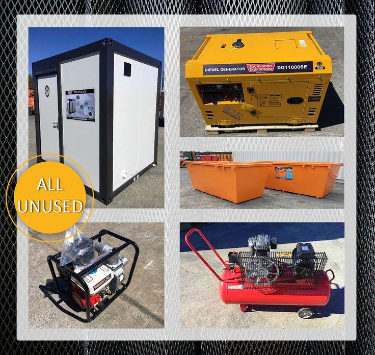 ❗ ALL BRAND NEW ❗  Ablution blocks - compressors - pumps - skip bins - generators -  and MORE -