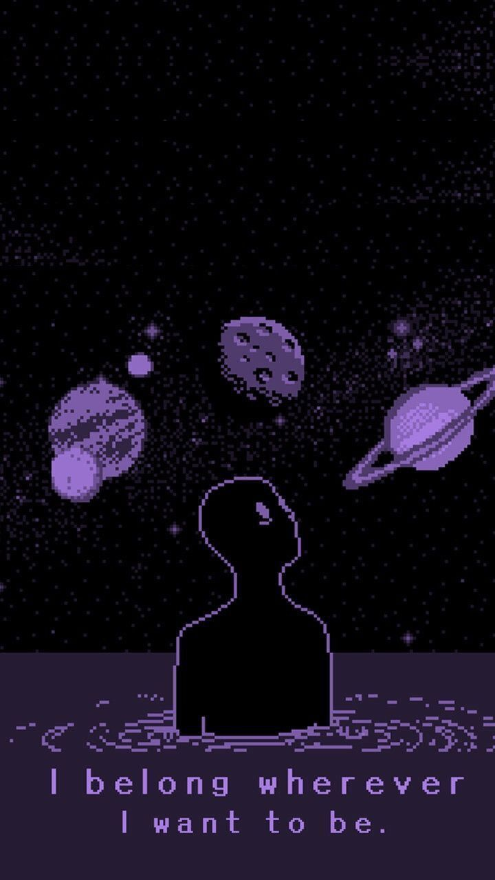 Aesthetic Trippy Wallpaper Home Screen Cyberpunk Aesthetic Pixel Art Art Wallpaper