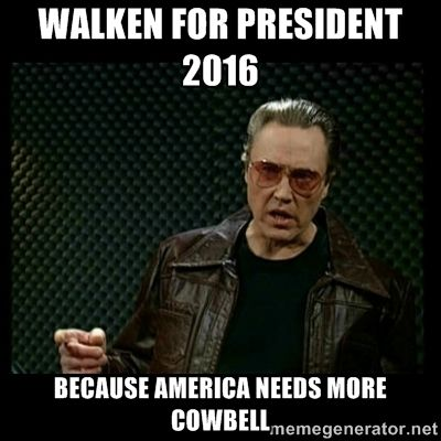 Walken for president 2016 because america needs m…
