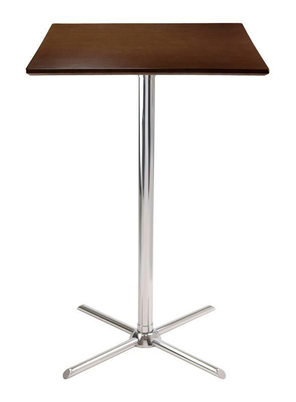 Winsome Wood 93534 Kallie Square Pub Table with X Base