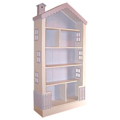 Cute bookcase for a little girl 39 s room decorating ideas pinterest - Adorable dollhouse bookshelves kids to decorate the room ...