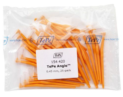 #manythings.online The original range of #TePe #Interdental Brushes comprises nine color coded sizes. The user-friendly handle offers a stable an convenient grip....