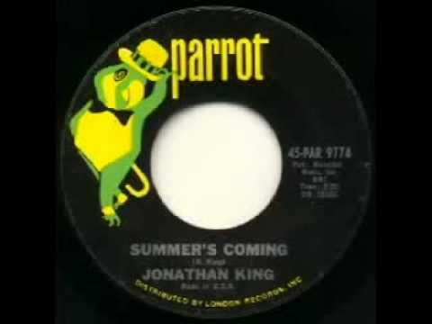 "Jonathan King - ""Summer's Coming"""