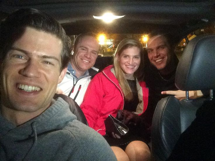 """Guys sometimes you get lucky and share an uber with Reese Witherspoon and her husband.... and she will quote lines from """"Sweet Home Alabama"""" if you ask nicely... #blessed #LookAtYouYouHaveaBabyInaBar"""