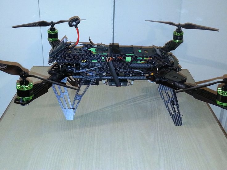 the predator 650 folding quad copter is a huge shift from the boring standard - Multirotor Frames