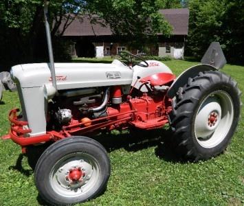 1953 Ford Golden Jubilee 50th Anniv Vintage Farm Yard Garden