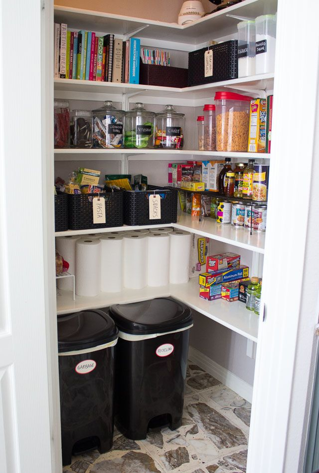 pinterest kitchen organization pantry organizations and organized pantry on 1520