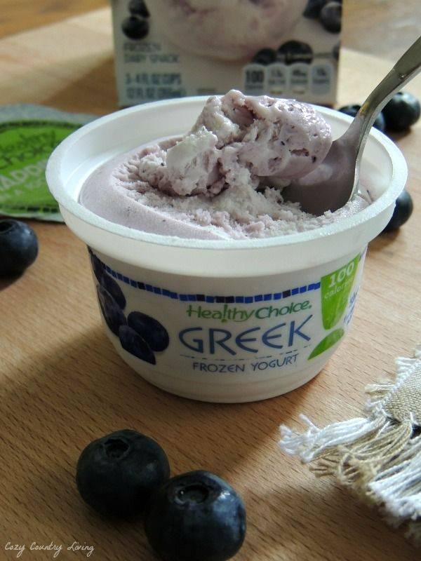 Healthy Choice Greek Frozen Yogurt is a tasty treat and only 100 calories per serving! Frozen: How Fresh Stays Fresh  http://www.cozycountryliving.com/frozen-how-fresh-stays-fresh-my-personal-favorites/ #ad