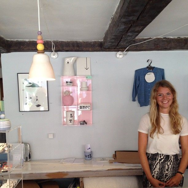 cute store named LIEBE in copenhagen  # store # liebe # copenhagen
