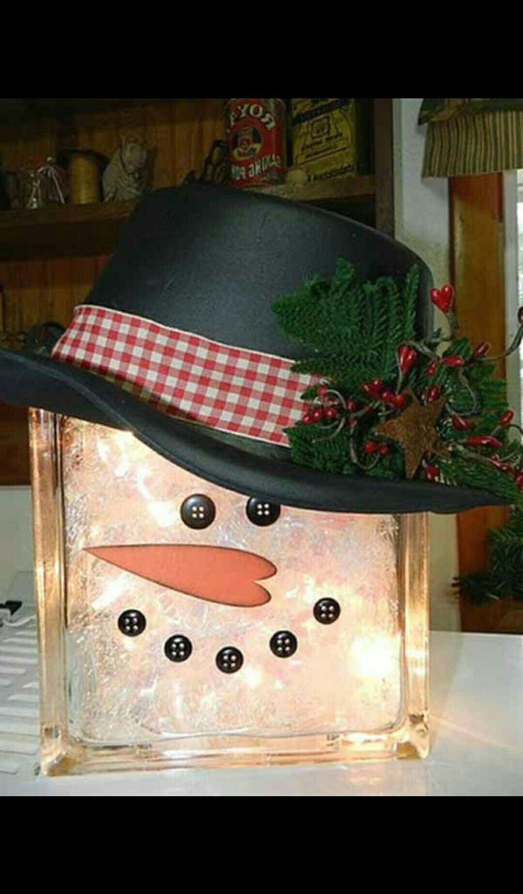Pin by Linda Osborne on crafts | Pinterest | Snowman, Handicraft and Craft