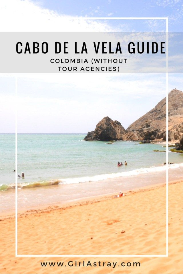 Ultimate, all encompassing guide to Cabo de la Vela in Colombia. Cabo de la Vela is a village in the desert in Guajira, on the Caribbean coast. This guide will help you figure out how to get there without a tour, what to do there and how to prepare. If you are traveling to Colombia, this magical place is worth exploring!