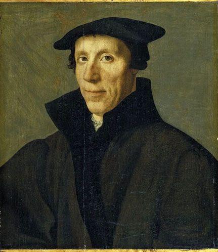 Ян ван Скорел (Jan van Scorel) (1495 - 1562) — Портрет мужчины (1495 - 1562, York Art Gallery)