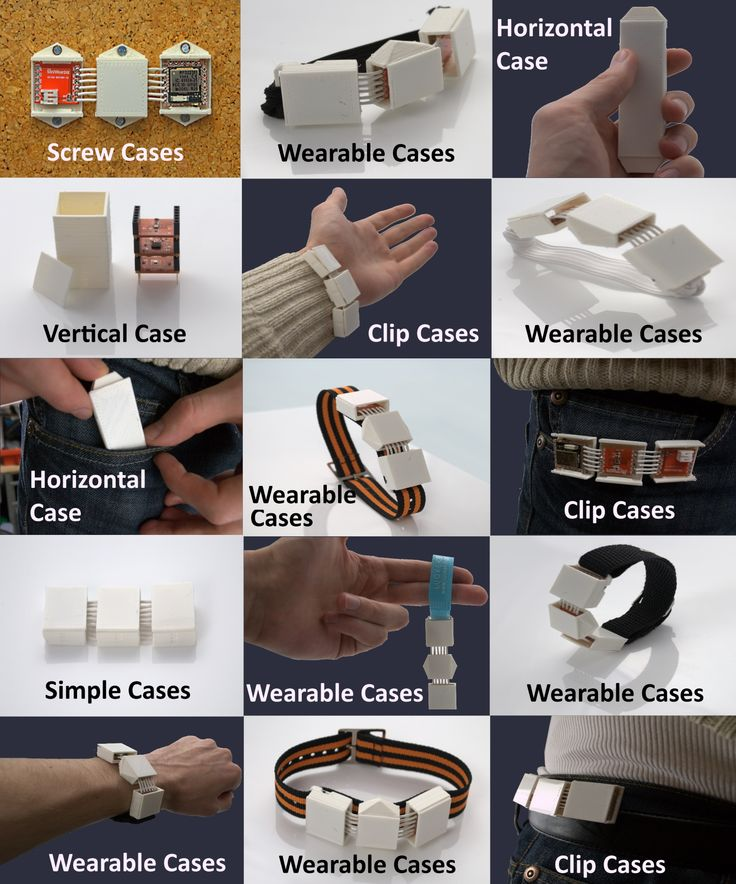 MiniWear - Case Application Examples http://igg.me/at/miniwear