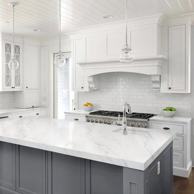 Giani Diy Series White Marble High Gloss Countertop Resurfacing Kit Lowes Com In 2021 Kitchen Design Layout Renovation