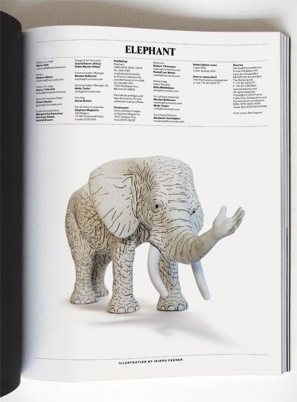Elephant : Isidro Ferrer