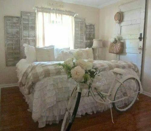 Vintage bedroom - http://myshabbychicdecor.com/vintage-bedroom-19/ - #shabby_chic #home_decor #design #ideas #wedding #living_room #bedroom #bathroom #kithcen #shabby_chic_furniture #interior interior_design #vintage #rustic_decor #white #pastel #pink