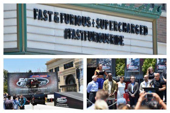 """""""Rápido y Furioso"""" estrena atracción en Universal Studios Hollywood"""