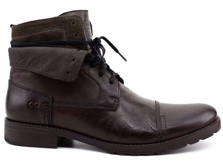 bota masculina democrata stroke cano dobravel 058101 pixolé