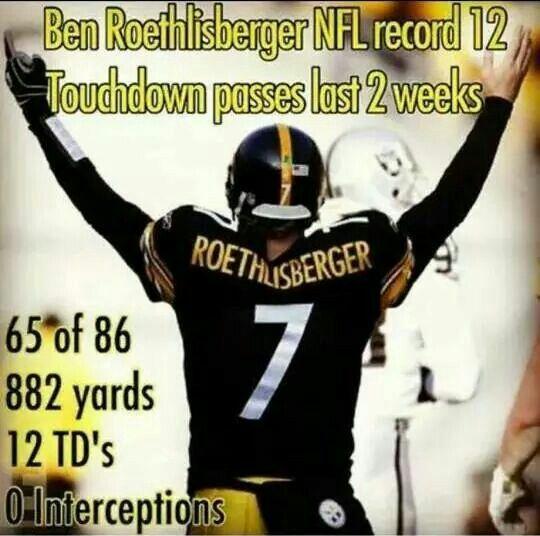 Ben Roethlisberger!!