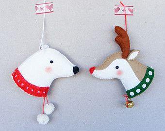 PDF pattern Cute Christmas Robin DIY embroidered by iManuFatti