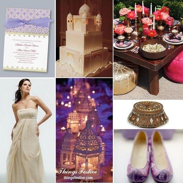 Fairy Tale Wedding Inspiration: Aladdin's Princess Jasmine #wedding #fairytalewedding #disneywedding #princessjasmine #aladdinwedding