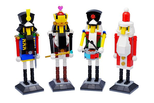 Custom Lego Sets for sale $99 Nutcracker Set in a Holiday Gift Box