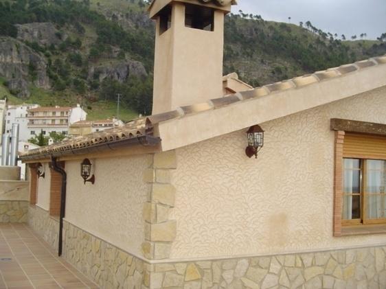Burunchel (Cazorla) - 40 € al dia Casa y buhardilla con chimenea y terraza 2 hab, 2 banys