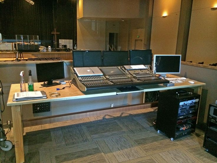 Church Media And Sound Booth Design Plans