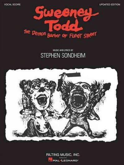 (Vocal Score). Vocal score to Sondheim's classic tale of the demon barber of Fleet Street. 25 songs, including: The Ballad of Sweeney Todd * The Contest * God, That's Good! * Johanna * Kiss Me * My Fr