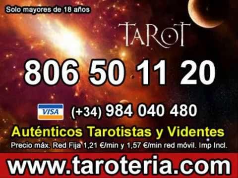 TAROTERIA TAROT TELEFÓNICO  TAROT GITANO DEL AMOR ECONÓMICO-806 50 11 20