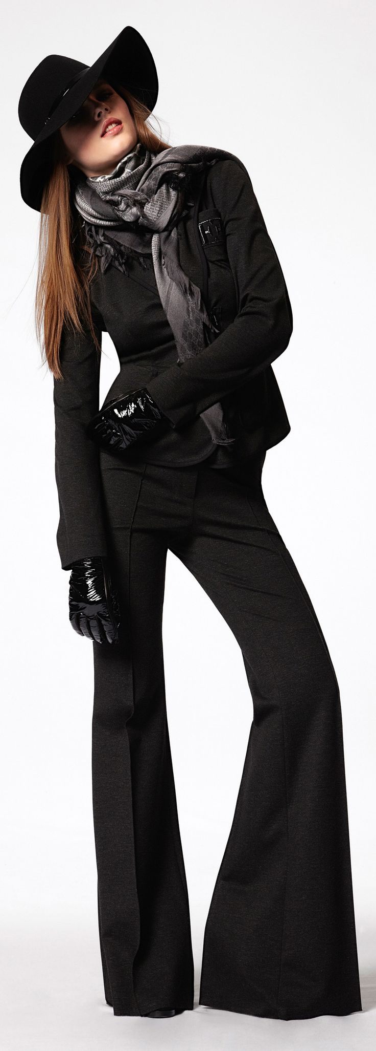 Escada White Label Fall Winter 2012 I like these pants but I am all about black in the winter months