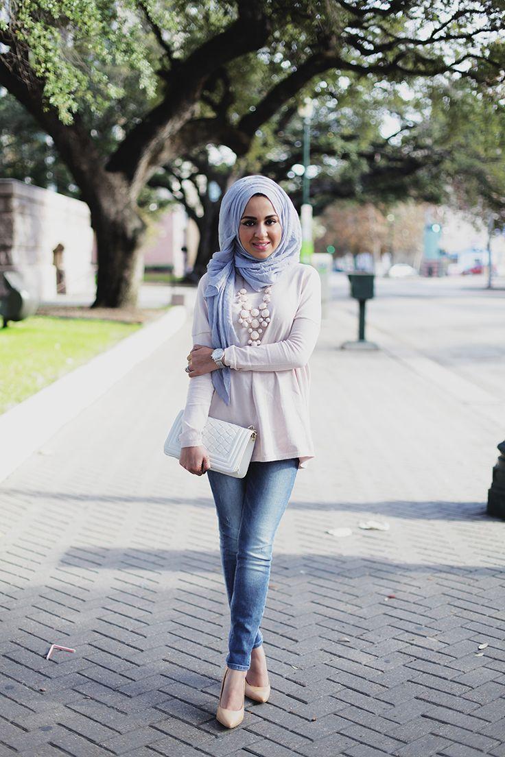stylish & beautiful street hijab fashion for girls (6)