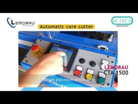 Lemorau CTA 1500 Automatic Core Cutter