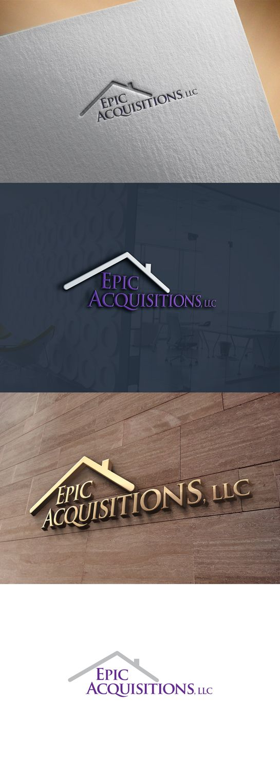 Real Estate Investment Company needs Logo Design Personable, Elegant Logo Design by kmatt