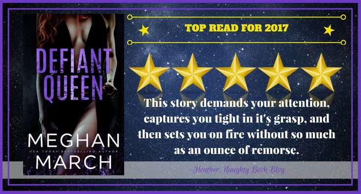 Blog Tour With Review: Defiant Queen by Meghan March – Naughty Book Blog