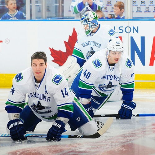 Alex Burrows and Maxim Lapierre, Vancouver Canucks